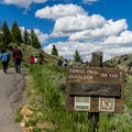 Start of the Tower Fall Trail.- A 3-Day Itinerary for Yellowstone National Park