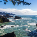 View from Deer Point.- Samuel H. Boardman State Scenic Corridor
