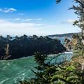 Spruce Island from Deer Point.- Samuel H. Boardman State Scenic Corridor