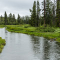 Indian Creek flows near the campground of the same name.- Yellowstone National Park