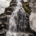 Williams Lake inlet waterfall.- Six Must Do Hikes Around Santa Fe + Taos
