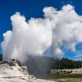 Castle Geyser in the Upper Geyser Basin.- The Wild Solitude of Winter in Yellowstone