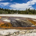 Upper Geyser Basin.- Guide to the Geysers + Hydrothermal Features of Yellowstone National Park