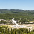 View from Observation Point.- A 3-Day Itinerary for Yellowstone National Park