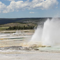 Lower Geyser Basin.- Guide to the Geysers + Hydrothermal Features of Yellowstone National Park