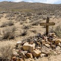 James McKay's grave in Chloride City.- Death Valley National Park