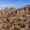 Beautiful view from the Pass Mountain Trail.- 15 Must-Do Hikes Near Phoenix, AZ