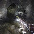 View within Ka'eleku Cave (Hana Lava Tube).- The Ultimate 7-Day Maui Road Trip