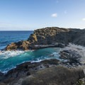 Hālona Beach is a popular beach cove.- Hawai'i's Best Beaches