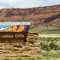 Entering the Verimillion Cliffs National Monument.- Breathtaking Cliffside Vistas