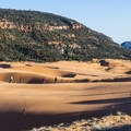 Coral Pink Sand Dunes at dusk.- Utah's 5 Essential Outdoor Towns