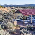 One of many picnic areas in the park.- Coral Pink Sand Dunes State Park