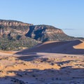 The Coral Pink Sand Dunes are quite  beautiful.- Coral Pink Sand Dunes State Park