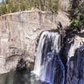 Upper Rainbow Falls.- The Sierra Beyond Yosemite