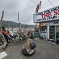 The Spot seafood market at Garibaldi Marina.- 5 Best Crabbing Locations on the Oregon Coast