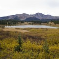 Little Molas Lake near Little Molas Campground.- Guide to Camping in Colorado's San Juan Mountains