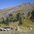 A dispersed camping campsite in Cunningham Gulch, Colorado.- Dispersed Camping on Public Lands