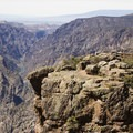 A rocky prominence at Sunset View in Black Canyon of the Gunnison.- Colorado's Top 10 Outdoor Destinations