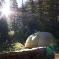 A typical campsite in the Chicago Basin.- Going the Distance
