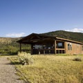 The trail to Green Mountain begins at the ranger station on the north rim.- Black Canyon of the Gunnison National Park