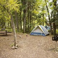 Town Park Campground in Telluride.- Guide to Camping in Colorado's San Juan Mountains
