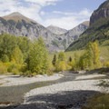 Beautiful views from Town Park Campground.- Guide to Camping in Colorado's San Juan Mountains