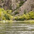 The Gunnison River near East Portal Campground.- Black Canyon of the Gunnison National Park