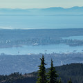 Overlooking Vancouver and Vancouver Island from Mount Seymour.- Best Day Hikes near Vancouver, B.C.