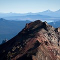Diamond Peak Hike: View of the Cascades.- Oregon's 75 Best Day Hikes