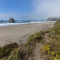 First look at China Beach.- Navigating the Oregon Coast Trail