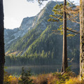 Mount Elsay and Elsay Lake in the morning.- Best Day Hikes near Vancouver, B.C.