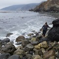 Exploring the coves at Mill Creek Beach.- The Best of Big Sur: Hiking, Camping, Beaches, and Waterfalls