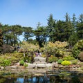 The botanical gardens in Shore Acres State Park.- Must-See Oregon Coast State Parks
