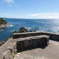 The view south from Cape Arago State Park toward Bandon and Coquille Point, then farther south toward Cape Blanco.- Must-See Oregon Coast State Parks