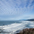 View north to Bayocean Peninsula and Cape Meares Lake from Cape Meares.- Driving 101: An Unbeatable West Coast Road Trip