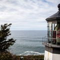 1890-built Cape Meares Lighthouse.- The Tillamook Bay Heritage Route