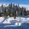 One of the many cross-country skiing routes near Journeyman Lodge in Callaghan Country.- 10 Last-Minute Winter Adventures