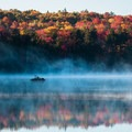 Woodford State Park in mid-October.- The Ultimate Fall Foliage Road Trip in Vermont