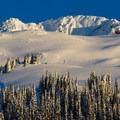Peaks above Journeyman Lodge.- Ski Bum Sweethearts' Best Romantic Getaways