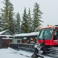 Captain Pat running shuttle for skiers at Callaghan Lake.- Ski Bum Sweethearts' Best Romantic Getaways