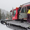 Loading the Cat for Callaghan Lake for another ski tour.- Winter Backcountry Delights in British Columbia's Callaghan Country