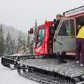Loading the Cat for Callaghan Lake.- Ski Bum Sweethearts' Best Romantic Getaways