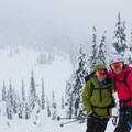 All smiles on the North Shoulder!- Winter Backcountry Delights in British Columbia's Callaghan Country