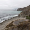 Willow Creek Beach and Picnic Area from the viewpoint above.- The Best of Big Sur: Hiking, Camping, Beaches, and Waterfalls