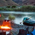 A small river camp along the John Day River.- Must-Do Rafting Trips in the West