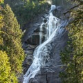 View of Shannon Falls from the lookout.- The Pacific Northwest