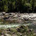 Where's your line? The Selway River's Ladle Rapid encourages creativity at low water.- 10 Great Rafting Trips in the Rocky Mountains