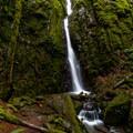 Soda Creek Falls.- Soda Creek Falls Trail
