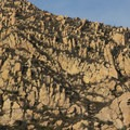 Interesting sandstone rock formations in the Santa Ynez Mountains along the Inspiration Point Trail. - Best of Santa Barbara: Beaches, Camping, Parks, and Trails