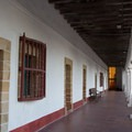 A whitewashed corridor at Old Mission.- Best of Santa Barbara: Beaches, Camping, Parks, and Trails